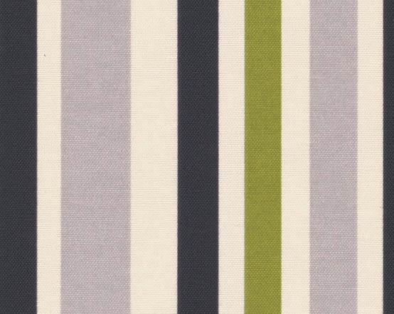 Lime Henley Stripes Roller Blinds With Green Grey
